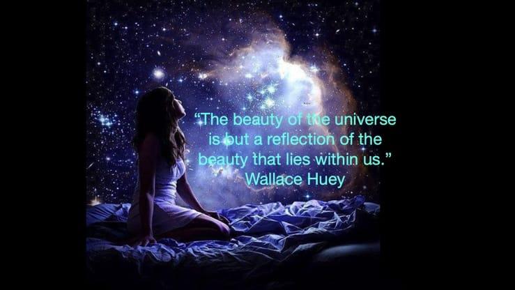 beauty of universe